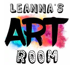 Leanna's Art Room Logo